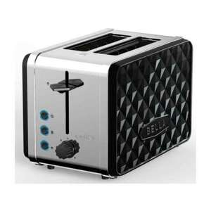 Bella Diamonds 2-Slice Toaster £9.99 - @ TJ Hughes - Free C&C