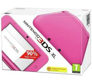 Nintendo 3DS XL Console - Pink+ FREE GAME AND CHARGER ARGOS - £149.99