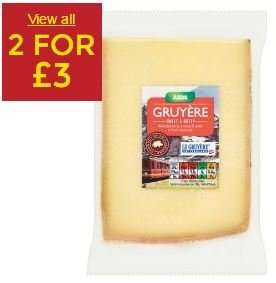ASDA Gruyere Cheese £2.70 or 2 for £3