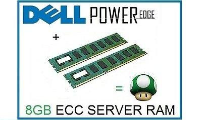 Dell T20 server memory / RAM: additional 8GB (2x4GB) £36.94 1upmemory eBay