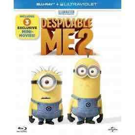Despicable Me 2 (Blu Ray + UV) Delivered £2.99 @ 365Games