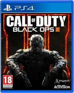 Call of Duty: Black Ops III (PS4) - £19.45 prime / £21.44 non prime @ Amazon