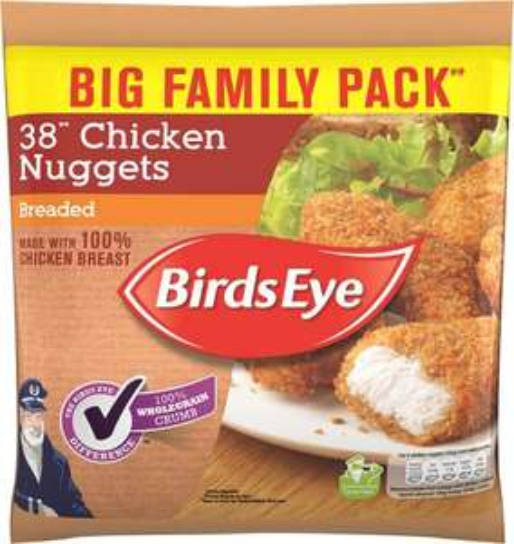 Birds Eye Chicken (41%) Nuggets (Breaded 38 pack = 720g) was £4.00 now £2.00 @ Waitrose