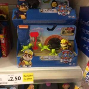 paw patrol playset £2.50 @ Tesco instore - Grimsby
