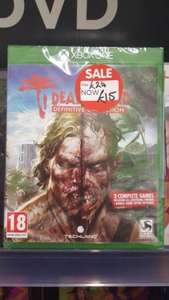Dead Island Definitive Collection including Dead Island Retro Revenge (Xbox One) ONLY £15 instore @ Asda