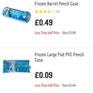 Frozen Pencil case 9p @ Argos