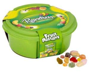 Rowntree Sweet Tubs 750g £2 instore @ Tesco