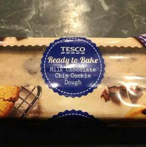 Tesco Raw Chocolate Chip Cookie Dough £1.50 instore
