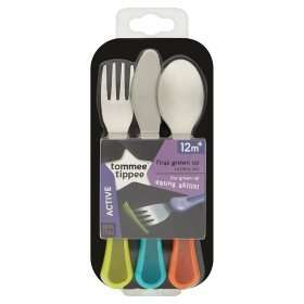 Tommee Tippee Explora First Grown Up Cutlery Set 12m+ Was £4.97 Now £2 @ ASDA / Amazon (Prime)