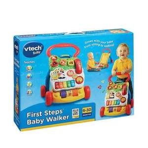 ​Vtech First Steps Baby Walker £7.50 @ Tesco (Reduced to clear instore)