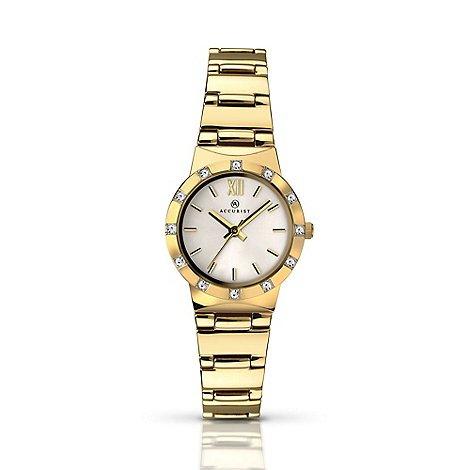 Accurist Women's gold plated bracelet watch £24 @ Debenhams was £80 now