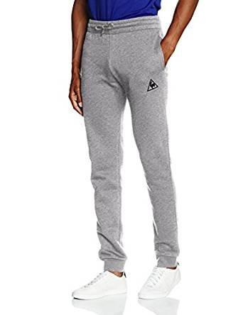 Le Coq Sportif Men's Pant Bar Slim Brushed M Light Heather Gr Sports Trousers £11.40 (Prime) / £15.39 (non Prime) at Amazon