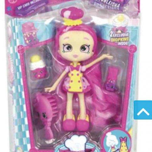 Shopkins Shoppies Bubbleisha doll £9.49 free C&C at Tesco direct
