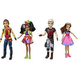 disney descendants dolls (4 pack) - £10 instore @ ASDA (Radcliffe)