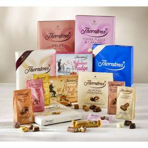 Thorntons Essential Bundle + snowflake box + star collection box, Only £18 @ Thorntons