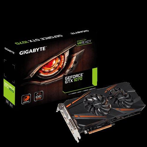 Gigabyte GeForce GTX 1070 WINDFORCE OC £347.35 at Amazon