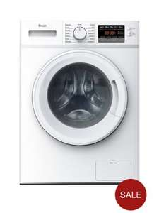 Swan SW4010W 8kg Load, 1400 Spin Washing Machine Was £349.99 Now £189.99 at Very