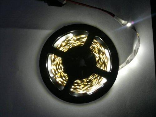 5M 300 Lights White LED Strip £1.64 @ Banggood
