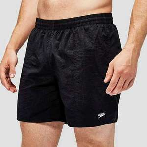 Speedo Men's Solid Leisure 16 Inch Water Shorts £5 (Black) delivered @ Millets