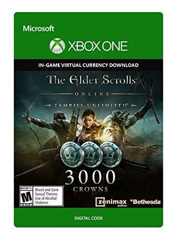 The Elder Scrolls Online Tamriel Unlimited 3000 Crowns Xbox One - Digital Code £12.49 (£11.86 with 5%) @ CDKeys