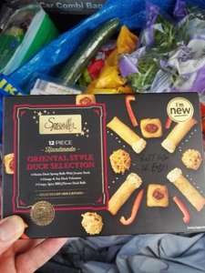 Aldi specially selected 12 piece oriental style duck selection 69p
