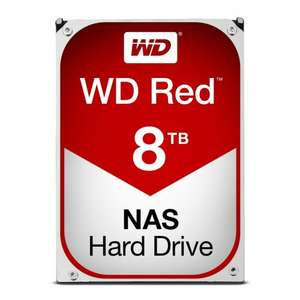 8TB WD RED £271.35 @ Amazon