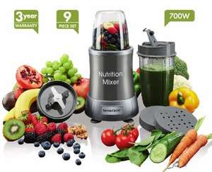 Nutrition Mixer - £29.99 - instore @ LIDL (Silvercrest) - 700W - Nine Piece Set - 3 Year Warranty -  Thursday Jan 12th