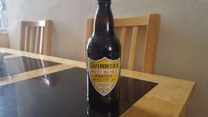 Guinness West Indies Porter 500ml £1.19 B&M