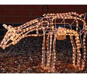 Grazing Moving Reindeer Light - £17.99 from £39.99 @ Argos
