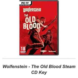 Wolfenstein - The Old Blood PC Steam - £2.99 @ Simply Games