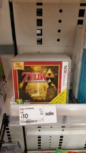 zelda link between world's  3ds £10 @ asda