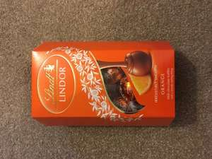 Lindt lindor orange truffles £2.00 at boots Andover - may be national