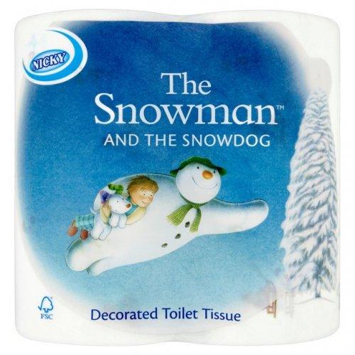 "4 x Nicky ""Snowman"" toilet rolls - 70p (Instore only) @ Wilko"