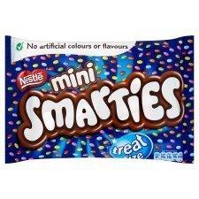 Smarties Mini Treat Size 18 Per Pack 260g 99p Tesco instore