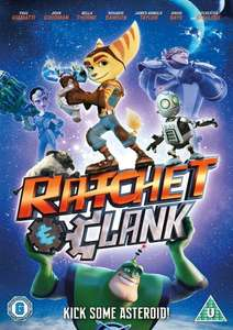 Ratchet & Clank The Movie DVD £3 with Free Delivery @ Tesco Direct or £3 @ Amazon but free delivery for Prime Members only