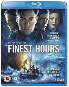 The Finest Hours Disney (Based on True Story) DVD £3, Blu-Ray £5 with Free Delivery @ Tesco Direct or DVD £2.99, Blu-Ray £4.99 @ Amazon but free delivery for Prime Members only.