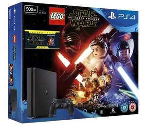 PS4 Slim 500GB Console + Lego Star Wars + Star Wars: The Force Awakens Movie @ Shopto EBAY - £199.99