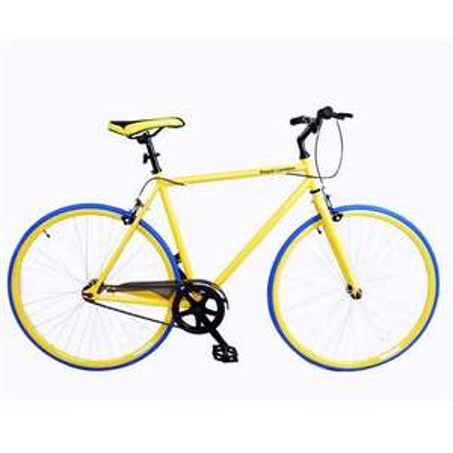 ROYAL LONDON FIXIE BIKE DAY GLO YELLOW OR BLUE, £99.99 SPORTS HQ VIA TESCO FREE C&C