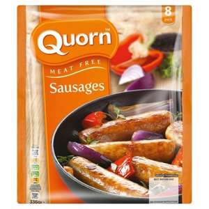 Quorn 8 x 42g sausages was £1.97 now £1.00 @ Morrisons