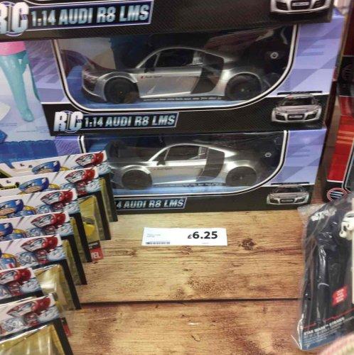 Audi R8 remote control car £6.25 instore @ Tesco