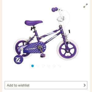 "Girls 12"" Bike Less Then Half Price - £20 @ Tesco Direct"