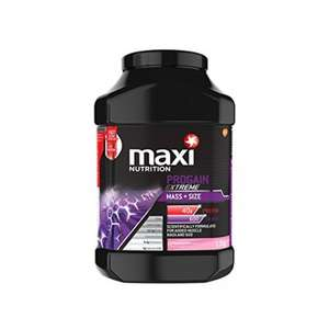 MaxiNutrition Progain Extreme Mass 1.5 kg - Strawberry already discounted with voucher 30%Off and subscribe 5 items 15%Off