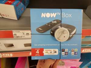 Now TV Box with 4 months Kids Pass £15 instore @ Asda (Sale)