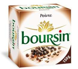Boursin Black Peppe Soft Cheese (150g) 3 for £1 instore at Herons