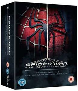 The Spider-Man Complete Five Film Collection [Blu-ray] | £11.70 with code @ZOOM