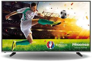 Hisense 55 - Inch Widescreen 4K Smart LED TV with Freeview HD £332 @ Amazon