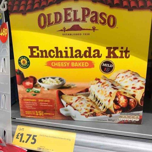 old el paso Enchilada Kit £1.75 @ Morrisons