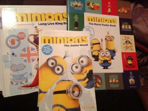 Various Minions books 9p @ Argos (instore)
