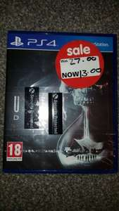 Until Dawn (PS4) Instore @ Asda - £13.00