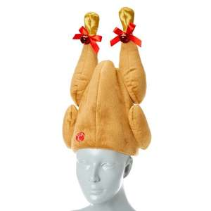 Animated Turkey Hat £1.50 from Claire's Accessories